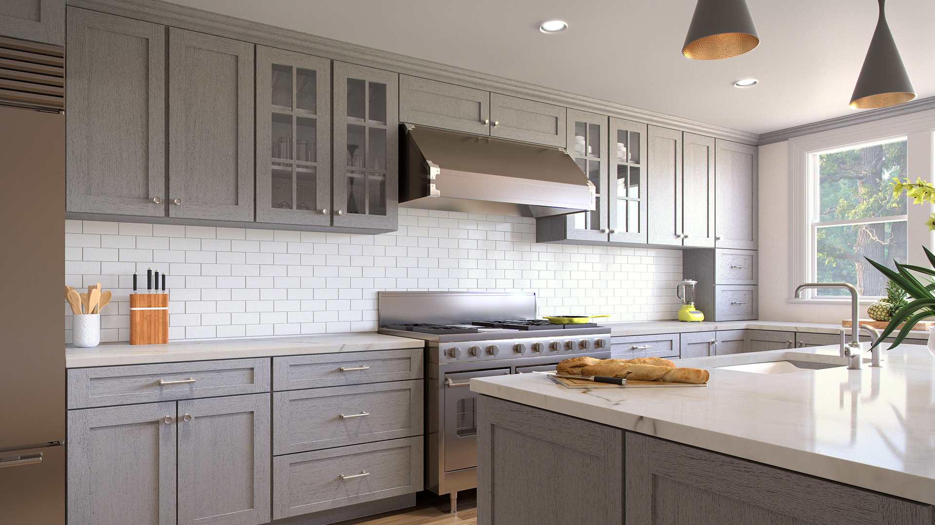 Farmhouse Kitchen Tile Ideas