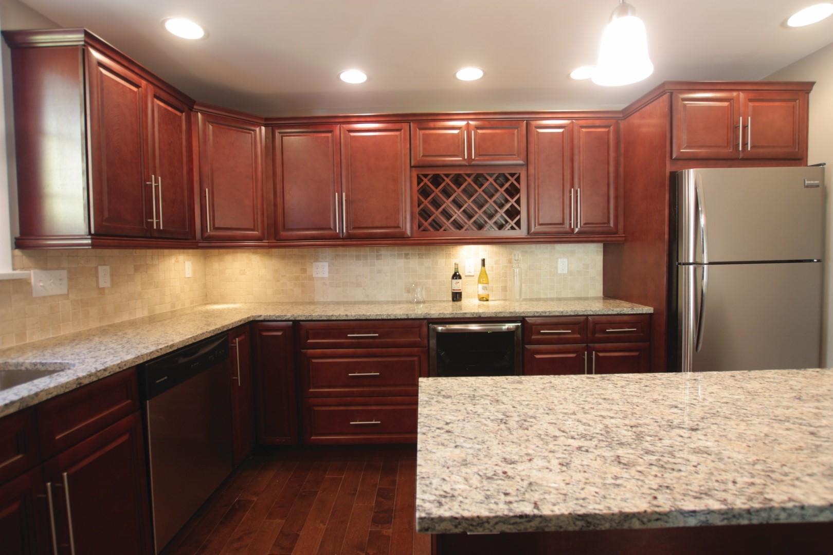 K Series Cinnamon Glaze Forevermark Cabinetry